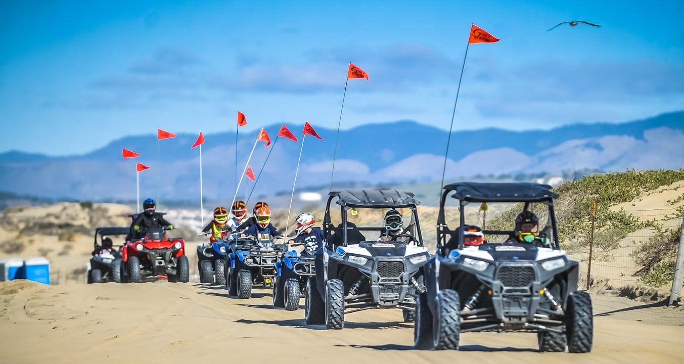 RTVs and ATVs with guests of all ages