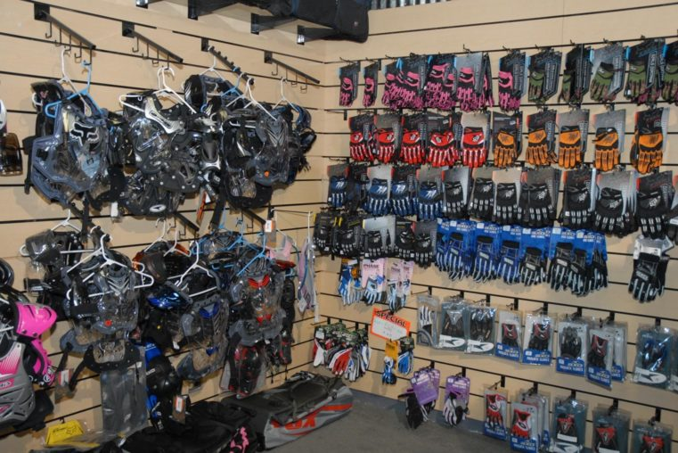 Interior of Grover Beach Motorsports at Pismo Beach