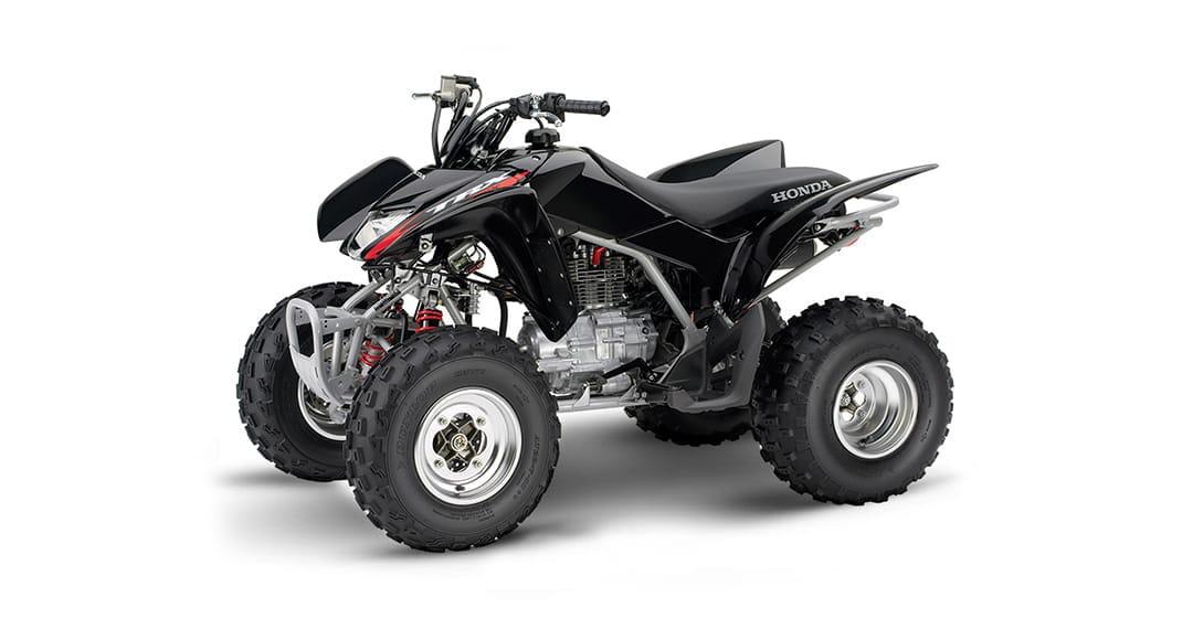 Black Honda 250ex