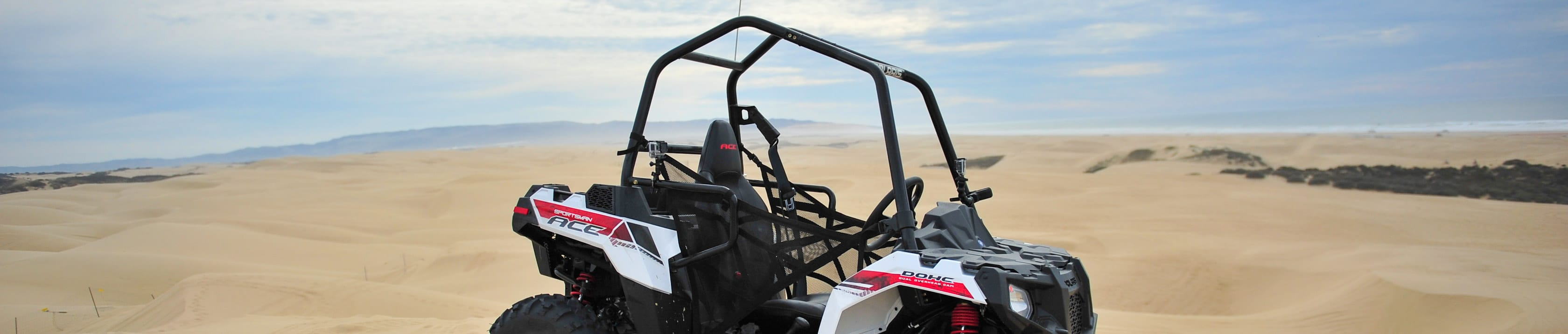 Polaris Ace without guests at Pismo Beach