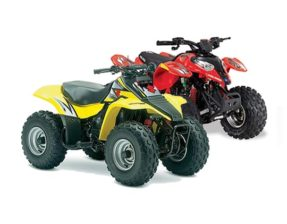 Suzuki 80 and Polaris 90